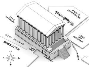 Restitution temple saturne axonometrie 2.png