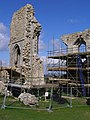 Restoration work at Corfe Castle - geograph.org.uk - 767146.jpg