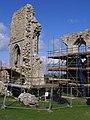 Restoration work at Corfe Castle - geograph.org.uk - 767146.jpg