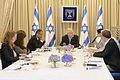 Reuven Rivlin opened the consultations after the 2015 elections with the HaBayit HaYehudi (1).jpg