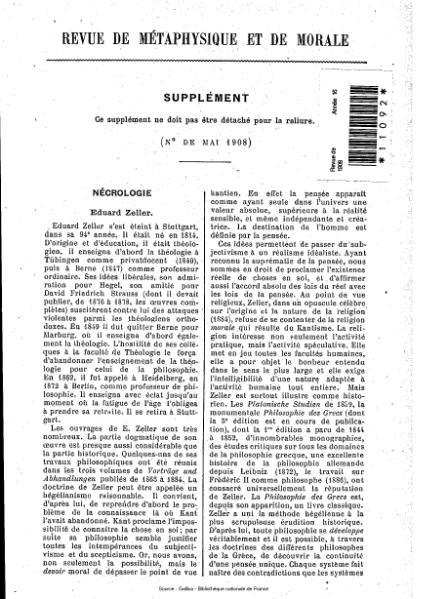 File:Revue de métaphysique et de morale, supplément 3, 1908.djvu
