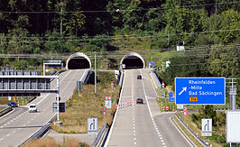 Tunnel Nollinger Berg in de A861
