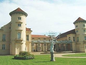 Rheinsberg Palace - Main wing
