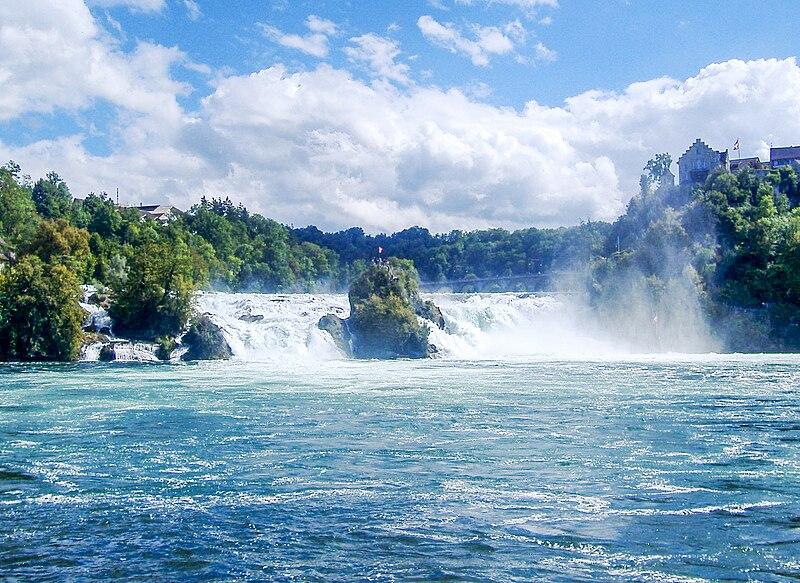 Rhine Waterfalls in Switzerland