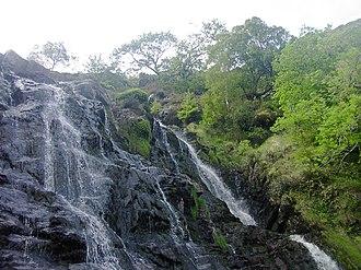 Lake Vyrnwy - Rhiwargor Falls on the Lake Vyrnwy Estate