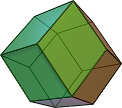 Rhombic dodecahedron
