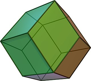 Rhombic dodecahedron polyhedron
