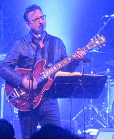 Richard Hawley performing at the Cambridge Corn Exchange in 2013