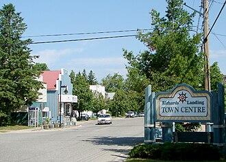 St. Joseph, Ontario - Main street of Richards Landing