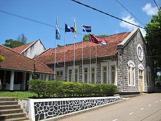 Richmond College, Galle - Richmond College main hall