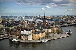 Riddarholmen del ayuntamiento de Estocolmo