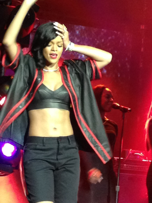 Rihanna 777 Documentary... 7Countries7Days7Shows - Rihanna performing during the 777 Tour in Mexico City