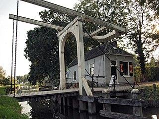Loenersloot Village in Utrecht, Netherlands