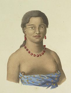 high chiefess and member of the royal family during the Kingdom of Hawaii.