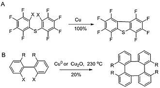 Ullmann reaction - Ring close sonogashira