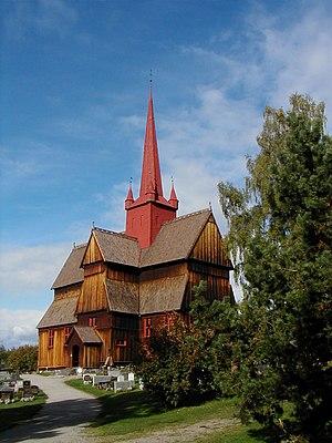 Ringebu - Ringebu Stavkyrkje