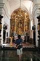 Ringing the wishing bell, Church Altar, Bled Islet (1285118290).jpg
