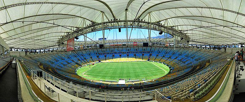Panorama do interior do estádio em fevereiro de 2015. 6e591f2186887