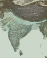 River Systems in India with Terrain June 2014.png