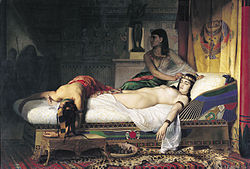 Jean-André Rixens: The Death of Cleopatra