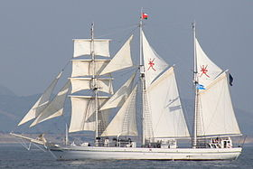 Tall Ships' Race (Cherbourg 2005)
