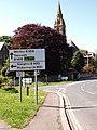 Road junction at Ruswarp - geograph.org.uk - 810495.jpg