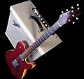 Rob Allen Electric Guitar with Fender amp (8304857821).jpg