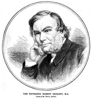 Robert Gregory (priest) - The Very Reverend Robert Gregory