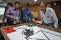 Robot Building Session - Workshop for Organising World Robot Olympiad - NCSM - Kolkata 2016-06-17 4667.JPG
