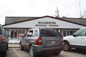 Rochester, Wisconsin - Municipal building