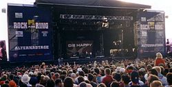 Die Happy bei Rock am Ring 2003
