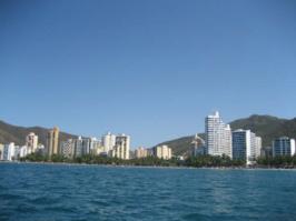 Panorama de Rodadero.