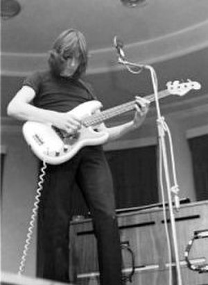 Atom Heart Mother - Roger Waters onstage at Leeds University, 28 February 1970. One of the earliest live performances of the album's title track was at this show.