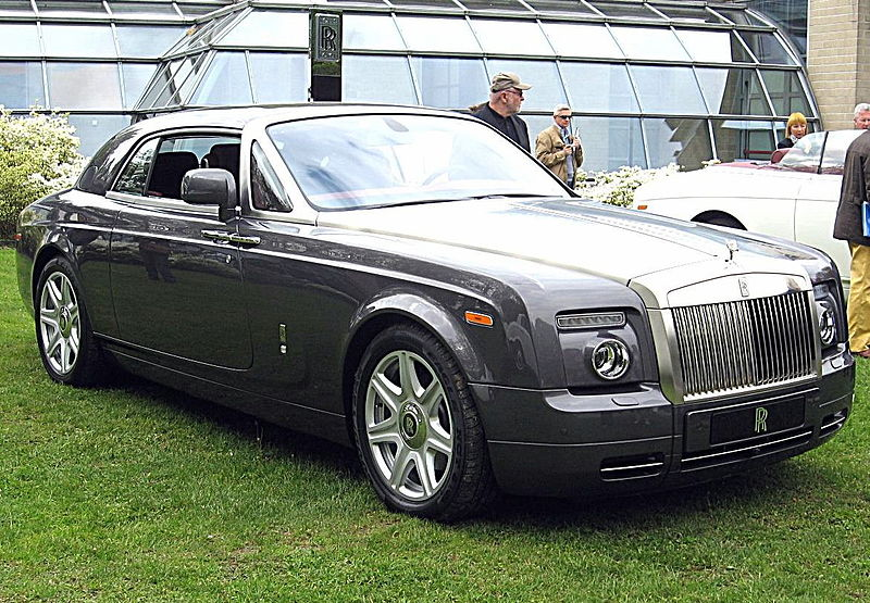 File:Rolls-Royce Phantom-Coupé Front-view.JPG