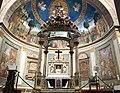 Roma, Basilica di Santa Croce in Gerusalemme, esposizione dell'icona Caesarius Diaconus, opera di Giovanni Guida.jpg