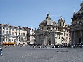 Santa Maria dei Miracoli and Santa Maria in Montesanto