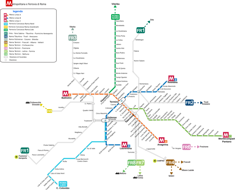 Roma Metropolitana e Ferrovia 2012.png