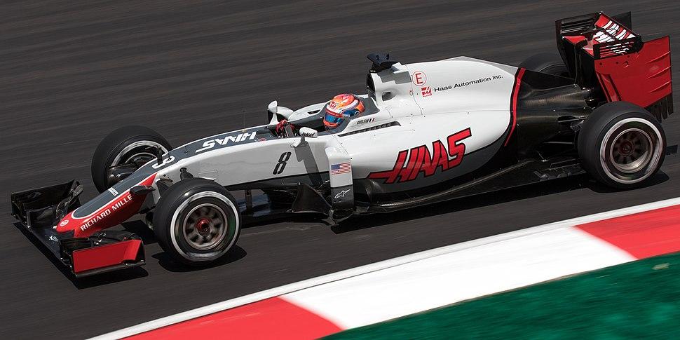 Romain Grosjean 2016 Malaysia FP2 1