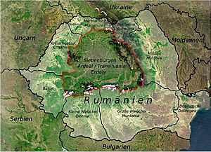 transsilvanien karte Siebenbürgen – Wikipedia transsilvanien karte