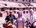 Rome Visit July 1974 - Visitors in the Colisuem.jpg