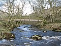 Rookhope Burn and the footbridge for the Weardale Way - geograph.org.uk - 728968.jpg