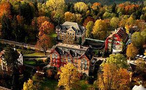 Institut auf dem Rosenberg - Institut auf dem Rosenberg Campus Aerial