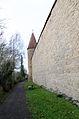 Rothenburg ob der Tauber, Stadtmauer, Schwefelturm, von Norden, 002.jpg