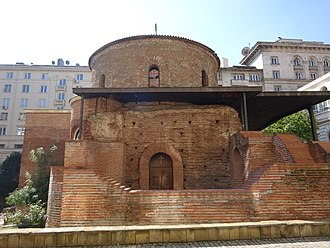 Religion in Bulgaria - The Church of Saint George in Sofia is the oldest church in Bulgaria.