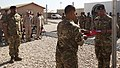 Royal Tongan Marines say farewell, lower flag in Afghanistan 140501-M-YZ032-687.jpg