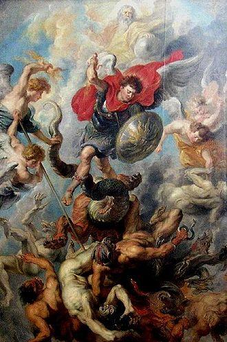 War in Heaven - Image: Rubens Höllensturz
