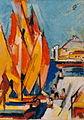 Rudolf Heinisch, Hafen von Ancona, 1951.jpg