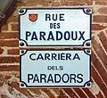 Rue des Paradoux - Plaques.jpg