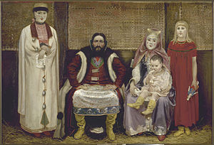 Domostroy - An idealized view of a Muscovite merchant family