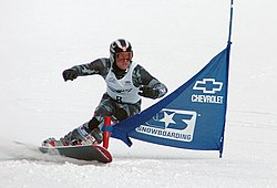Ryan McDonald competes in the 2005 Continental Cup